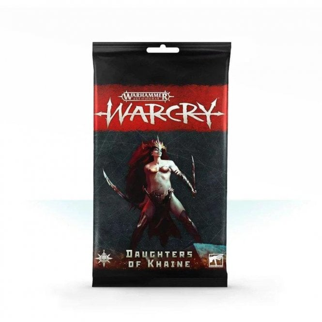 Games Workshop Age of Sigmar WARCRY Cards Collection : Daughters of Khaine Rules Cards