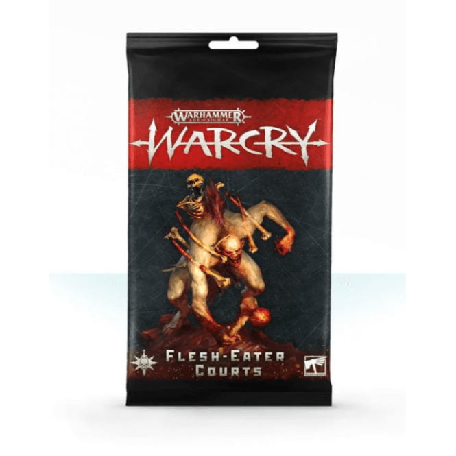 Games Workshop Age of Sigmar WARCRY Cards Collection : Flesh Eater Courts Rules Cards