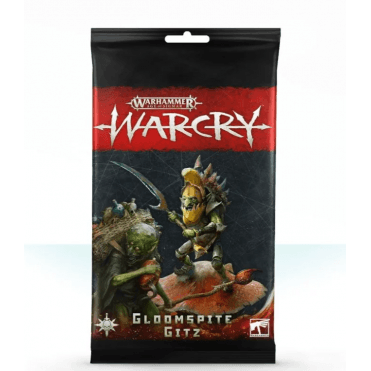 Age of Sigmar WARCRY Cards Collection : Gloompsite Gitz Rules Cards