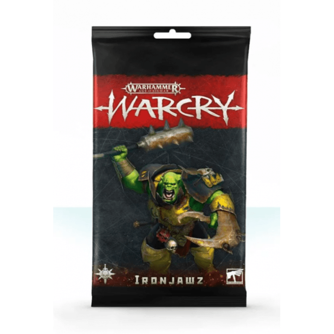 Games Workshop Age of Sigmar WARCRY Cards Collection : Ironjawz Rules Cards
