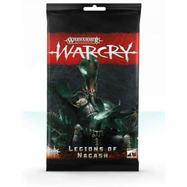 Age of Sigmar WARCRY Cards Collection : Legions of Nagash Rules Cards