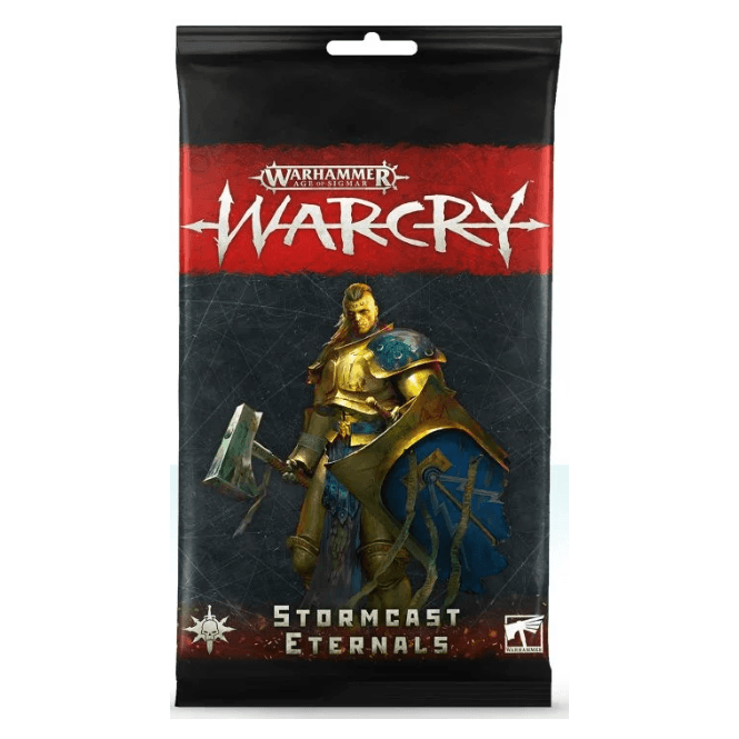 Games Workshop Age of Sigmar WARCRY Cards Collection : Stormcast Eternals Rules Cards