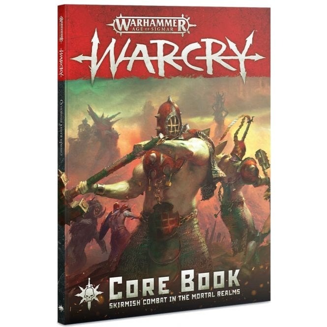 Games Workshop Age of Sigmar : WARCRY Core book