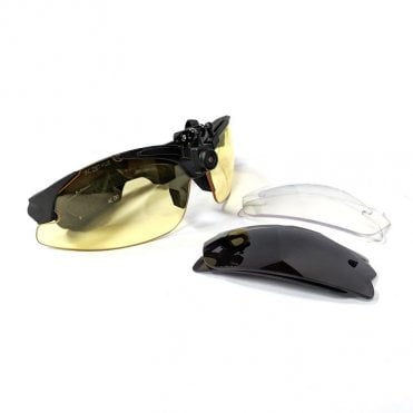AimCam Pro 2 Sports Action Camera Glasses - Black