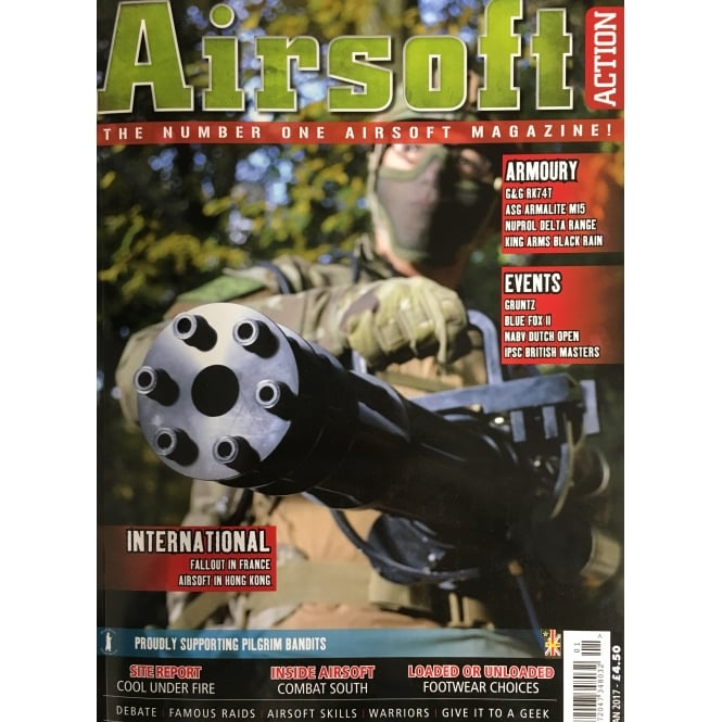Airsoft Action Jan 2017