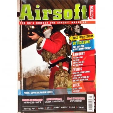 Airsoft Action Magazine - January 2016