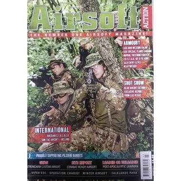 Airsoft Action March 2017