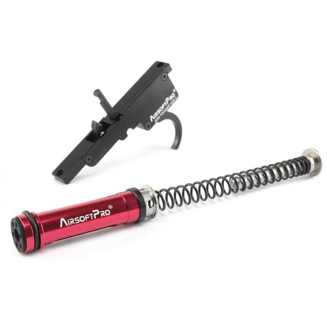 AirsoftPro Full Upgrade set for TM AWS L96 and Well MB44xx - Gen.3 - M140 (460fps)
