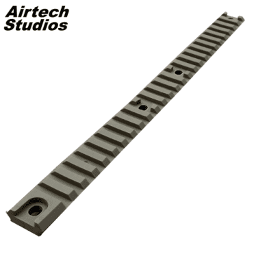 Airtech Studios Accessory RIS Top Rail Long Ares Amoeba AM-013/014 - Dark Earth