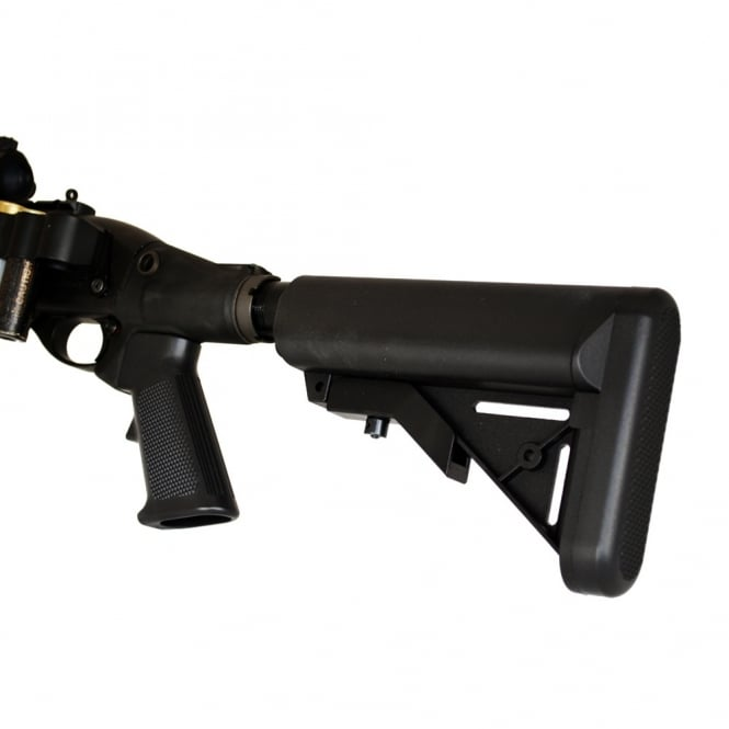 Angry Gun Retractable CNC Gas Tank Stock for Tokyo Marui M870