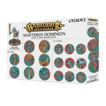 AOS Shattered Dominion 25 & 32mm Round Bases