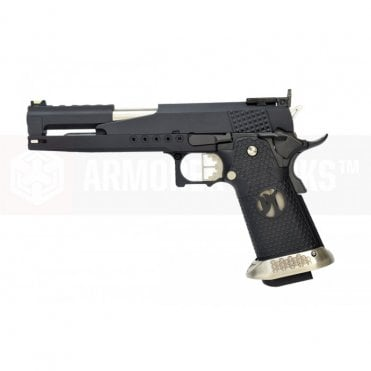 Armorer Works Custom Race Gun Hi-Capa GBBP - Dragon Black Slide / Black Grips