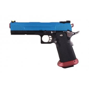 Armorer Works HX1104 Hi-Capa Gas Blow Back Pistol - Blue