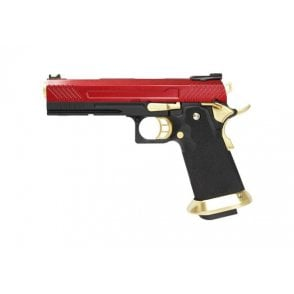Armorer Works HX1104 Hi-Capa Gas Blow Back Pistol - Red