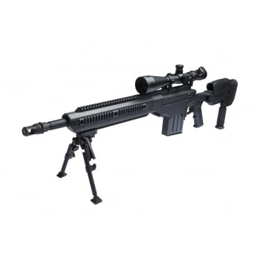 ASG Ashbury ASW338LM Sniper Rifle Black Edition