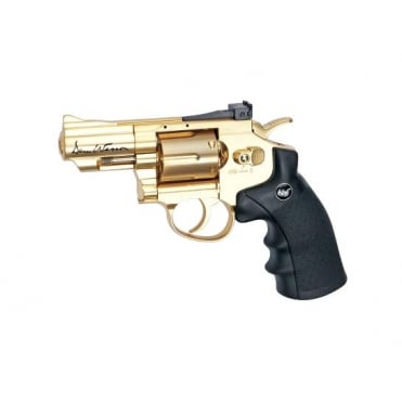 "ASG Dan Wesson 2.5"" Gold CO2 Revolver"