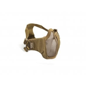 ASG Lower Face Protection Mask with Cheekpads - Tan