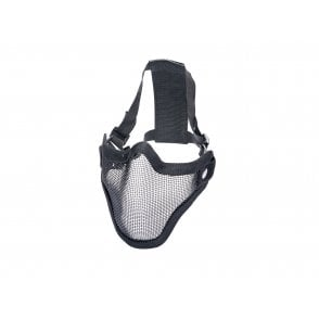 ASG Mesh Lower Face Protection Mask - Black