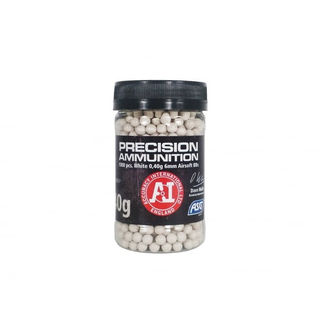 ASG Precision Heavy Ammunition (White) - 0.40g