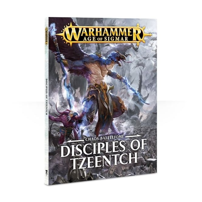 Games Workshop Battletome: Disciples of Tzeentch Softback