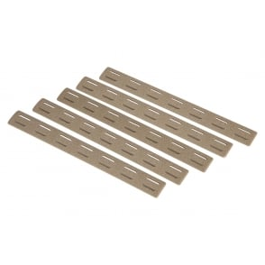 BCM Keymod Rail Panel Kit (5 pack) - Flat Dark Earth