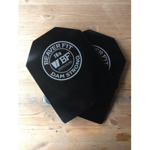 BeaverFit Curved Training Plates (Pair) 10lb each