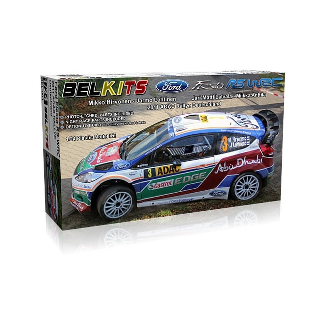 Belkits 1/24 Ford Fiesta WRC Car Model Kit