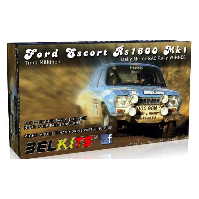 Belkits Ford Escort MkI RS1600 Rally 1973