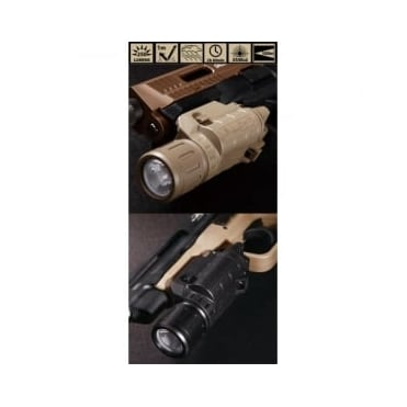 Beta Project P Light Weapon Mounted Flashlight Black