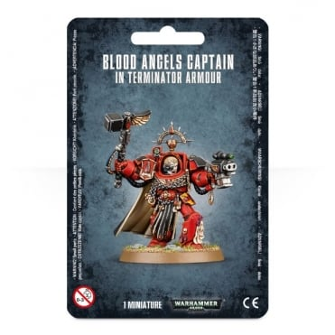 Blood Angels Captain : Terminator Armour