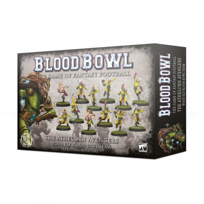 Games Workshop Blood Bowl : The Athelorn Avengers Team