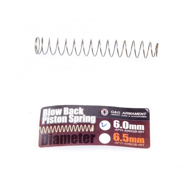 G&G Airsoft Blowback Piston Spring (0.6)