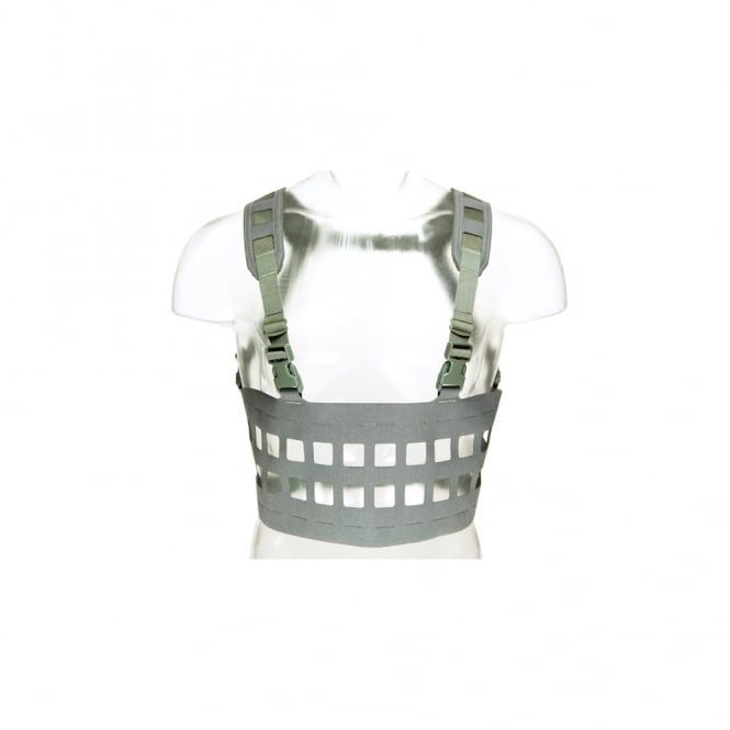 Blue Force Gear Rack Minus MOLLE Chest Rig (Wolf Grey)