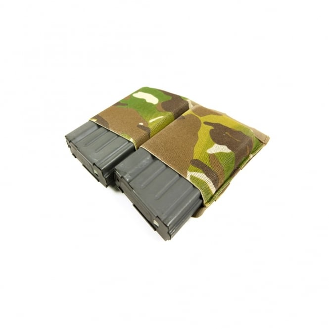 Blue Force Gear Ten-Speed Double SR25 Mag Pouch (Multicam)