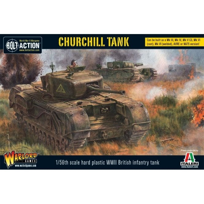 Warlord Games Bolt Action 1/56 Scale Churchill Tank