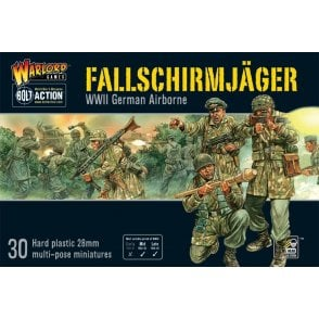 Bolt Action Fallschirmjager German Airborne 30 Miniatures