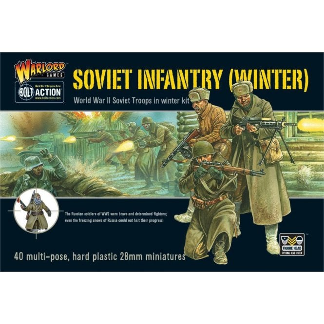 Warlord Games Bolt Action Soviet Infantry (Winter)