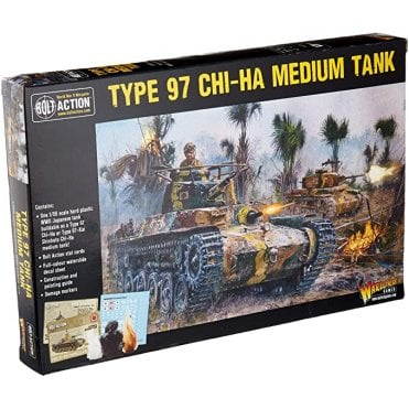 Bolt Action Type 97 Chi Ha Medium Tank
