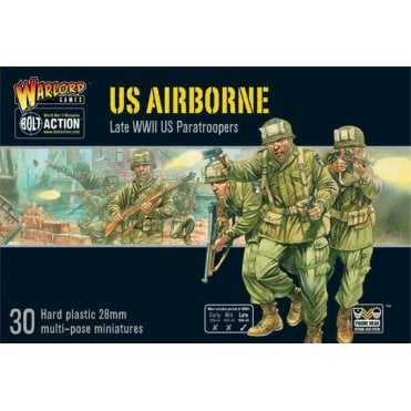 Bolt Action US Airborne 30 Miniatures