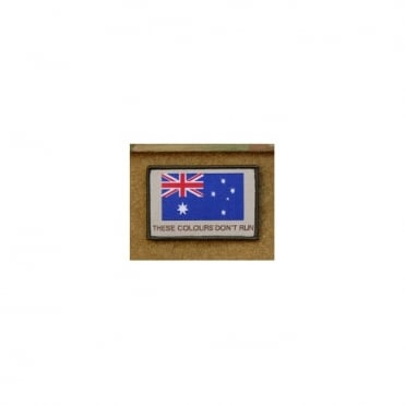 USA Woven Austraila These Colours Don't Run Patch