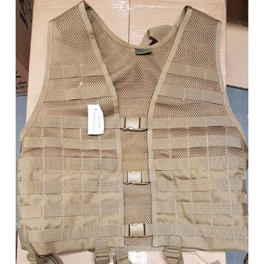 Built for Battle Tan MOLLE Assualt Vest