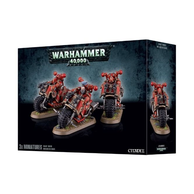 Games Workshop Chaos Space Marine Bikers