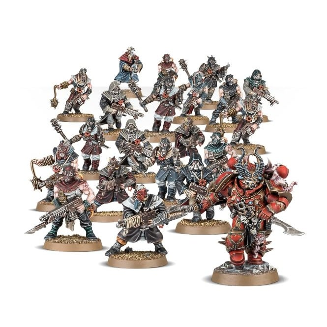 Games Workshop Chaos Space Marines Cultist Assault