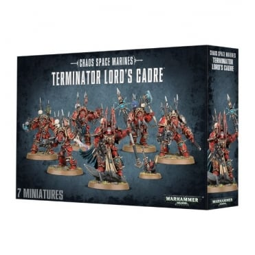 Chaos Space Marines Terminator Lord's Cadre