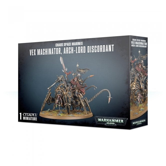 Games Workshop Chaos Space Marines : Vex Machinator, Arch-Lord Discordant