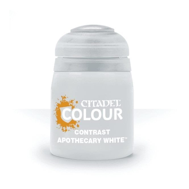 Games Workshop Citadel Apothecary White Contrast Paint 18ml