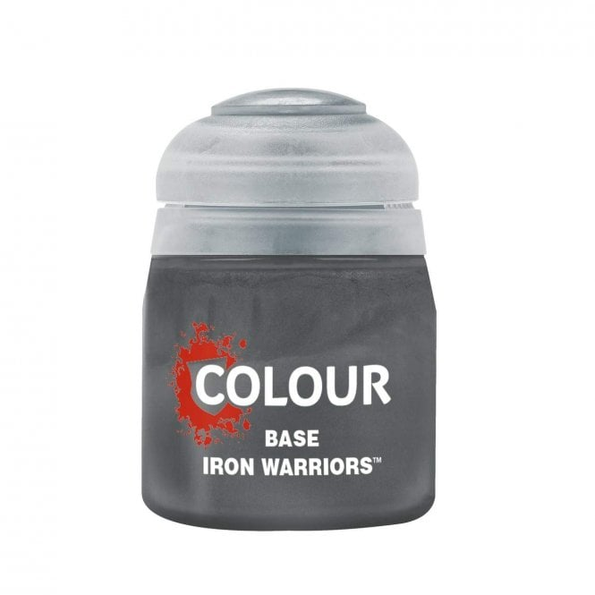 Games Workshop Citadel Iron Warriors Base Paint 12ml