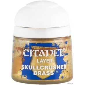 Citadel Skullcrusher Brass Layer Paint 12ml