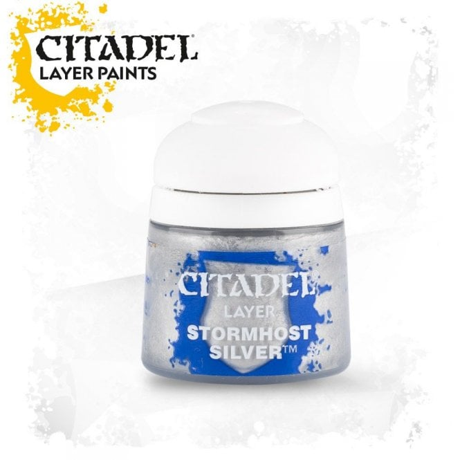 Games Workshop Citadel Stormhost Silver Layer Paint 12ml