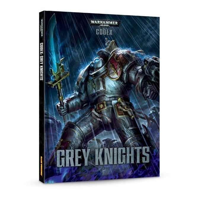 Games Workshop Codex : Grey Knights (Hardback)